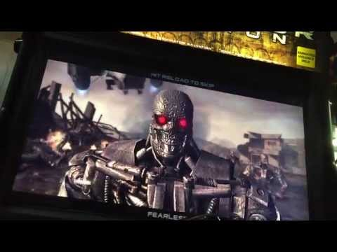 Terminator Salvation Arcade - Mission 1-1 Hornet's Nest