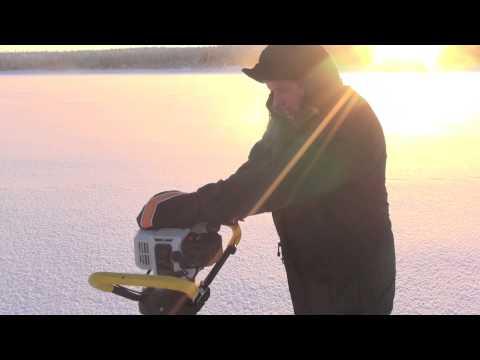 мотоледобур rapala vortex ice drill