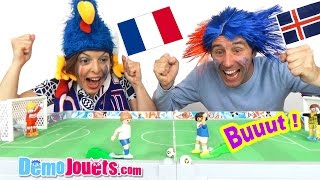 Video FRANCE ISLANDE UEFA EURO 2016 On fait notre Match Démo Jouets ! MP3, 3GP, MP4, WEBM, AVI, FLV Mei 2017