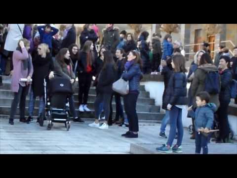 18/03/08 Greba feminista eguneko elkarretaratzea