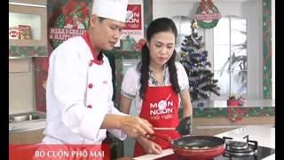 Món Ngon Mỗi Ngày - Bò cuộn phô mai