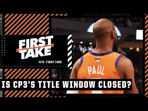 Stephen A. thinks Chris Paul's championship window is officially closed   First Take