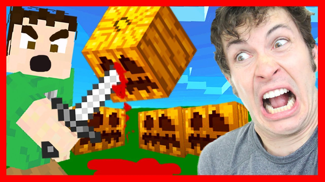Best of Minecraft – PUMPKIN MASSACRE 2013!