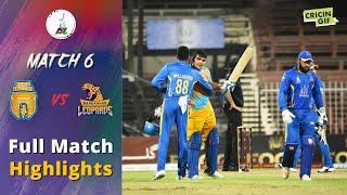 APLT20 2018 M6: Kabul Zwanan v Nangarhar Leopards Full highlights - Afghanistan Premier League T20