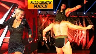 Nonton WWE Raw 3 October 2016 - Roman Reigns vs Rusev HELL IN A CELL Match Rusev Brutal fight Film Subtitle Indonesia Streaming Movie Download