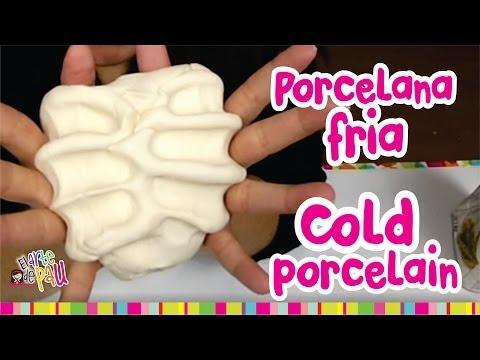 porcelana fria - http://www.youtube.com/user/ElArtedePAU ┊ ┊ ┊ ┊ ┊ ┊ ┊ ☆ ┊ ┊ ☆ ┊ Tutorial paso a paso para hacer porcelana fría ☆ En este tutorial inspirado en MANUALID...