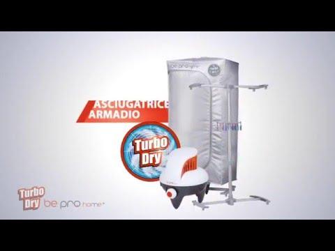 Asciugatore portatile elettrico TURBO DRY BE PRO HOME Italian