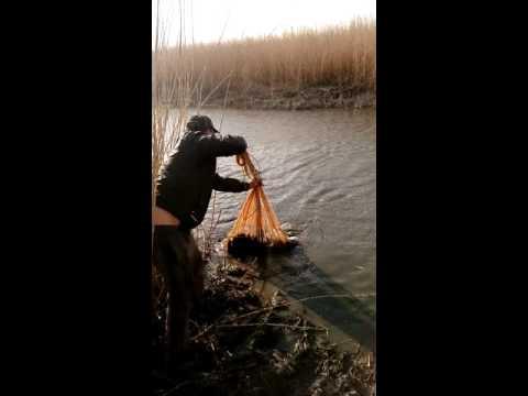 рыбалка накидкой видео ютуб