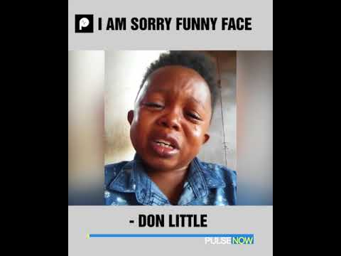 Don Little pleads with fans to ask Funny face to forgive him  Pulse Now