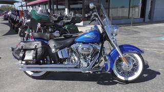 4. 012763 - 2010 Harley Davidson Heritage Softail Classic   FLSTC - Used motorcycles for sale