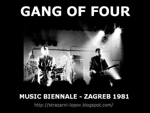 Live Music Show - Gang of Four, 1981
