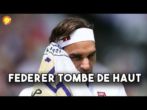 LA CHUTE DE FEDERER ! | Wimbledon - Jour 9