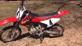 8. Honda CRF150F review - (please leave a like and subscribe)
