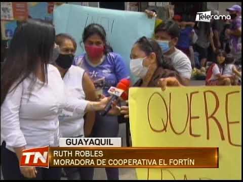 20 familias piden ser reubicadas por construcción de ducto cajón