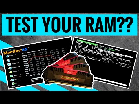 Test RAM with MemTest86, now with UEFI support!