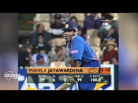 Chamara Silva 107 not out vs India, 2007