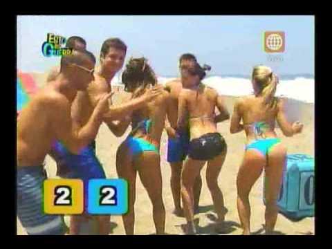 Esto es Guerra: Reto en la playa (toboganes) 05/03/2013