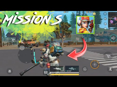 Mission S Gameplay (Android/iOS) || Battle Royal Game