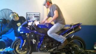 9. 2012 Yamaha R1 Dyno Pull