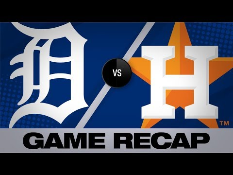 Video: Cole, Bregman lift Astros past Tigers   Tigers-Astros Game Highlights 8/22/19