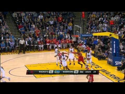 Josh Smith to Dwight Howard alley-oop on the fast break