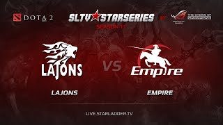Lajons vs Empire, game 1