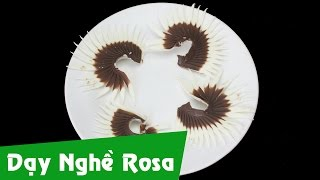 Cạo socola - Sủi lông mi trắng đen - Bài 5