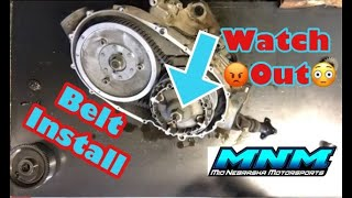 9. HOW TO - Yamaha Grizzly Kodiak Rhino Belt Drive Primary Secondary Clutch Sheave Cover Removal