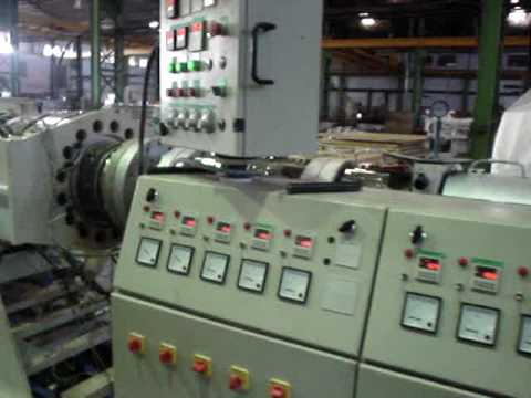 Windsor Machines Limited R PVC Pipe Extrusion Line Model KTS 450 Part 1