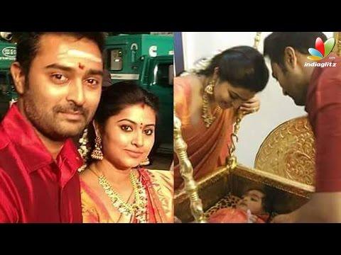 Sneha-and-Prasanna-pulling-Golden-Chariot-in-Palani-Temple-Hot-Tamil-Cinema-News-08-03-2016
