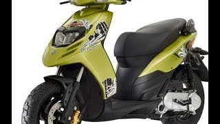 8. Piaggio Typhoon 50 2018 Full Specs & Details #PhotoAction