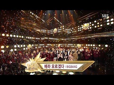 BIGBANG - '에라 모르겠다 (FXXK IT)' 0108 Inkigayo : NO.1 OF THE WEEK