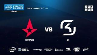IEM Oakland - Astralis vs SK Gaming - map2 - de_mirage - [CrystalMay, ceh9]
