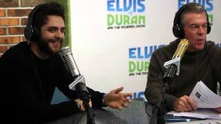 Video Thomas Rhett Interview on Being a Country Boy and His Fairytale Marriage | Elvis Duran Show download in MP3, 3GP, MP4, WEBM, AVI, FLV January 2017