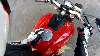 8. Ducati Streetfighter 848 - First ride of 2015