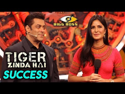 Tiger Zinda Hai Success Party in Bigg Boss 11 Hous