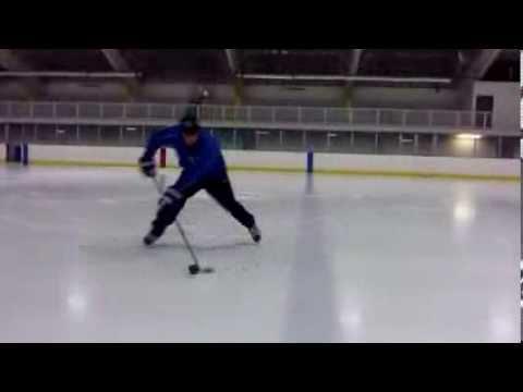 Hockey Stick Handling Skills – Backhand and Forehand Flips Over the Blueline