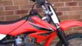 8. Honda CRF 100 F 2008