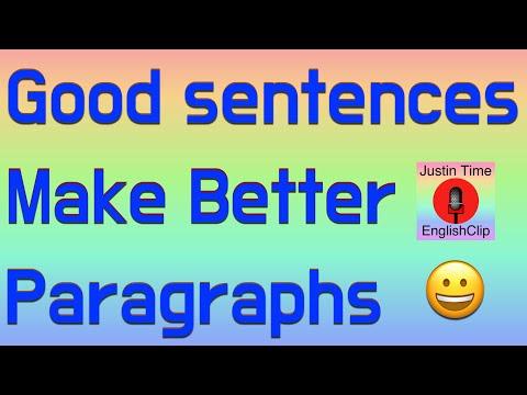 How to Write Better Sentences - Easy Fun Way - basic ESL