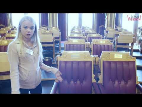 Barnas Valgreporter Eline besГёker Stortinget