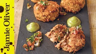 Spicy Crab Cakes | Shay Ola by Jamie Oliver