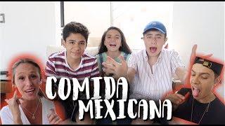 Video Extranjeros Probando Comida Mexicana I Dosogas Team Kids MP3, 3GP, MP4, WEBM, AVI, FLV Juni 2018