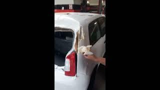 Polscy łowcy szpachli w akcji, czyli kolejne ulepione auto