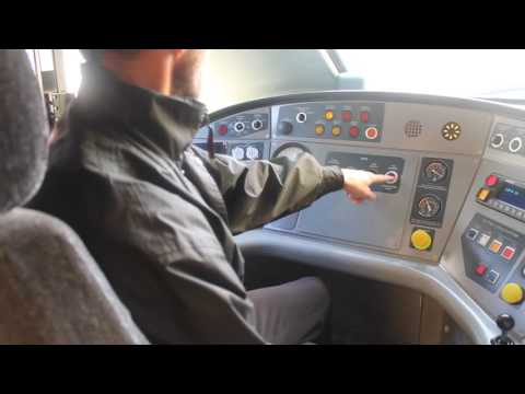 Cab Tour Of A Class 390 Pendolino At Manchester Piccadilly.
