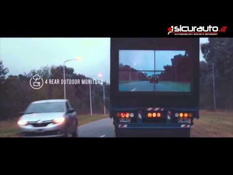 camion sicuri: i maxi schermi anti-incidenti della samsung!