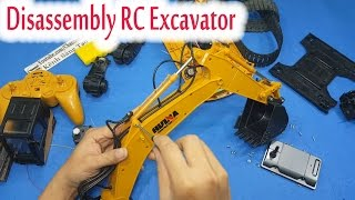 Video Disassembly - What's inside RC Excavator Huina Toys 1550 download in MP3, 3GP, MP4, WEBM, AVI, FLV January 2017