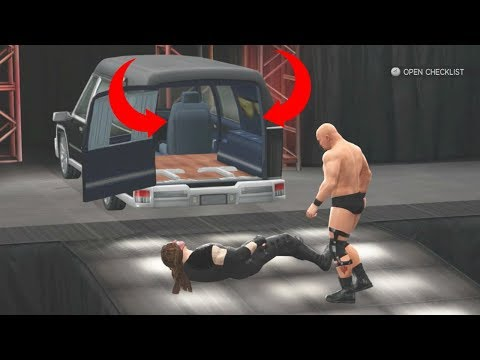 8 Rare Match Types You Never Knew Existed In WWE Games