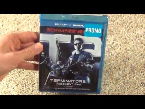 T2 Terminator 2: Judgement Day Blu-Ray Unboxing