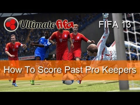 FIFA 13 Shooting Tutorial: Easy Way To Score Past Manual Keepers!