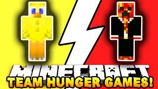 Minecraft TAP IN&OUT CHALLENGE! #1 (Hunger Games) w/ Preston&Choco